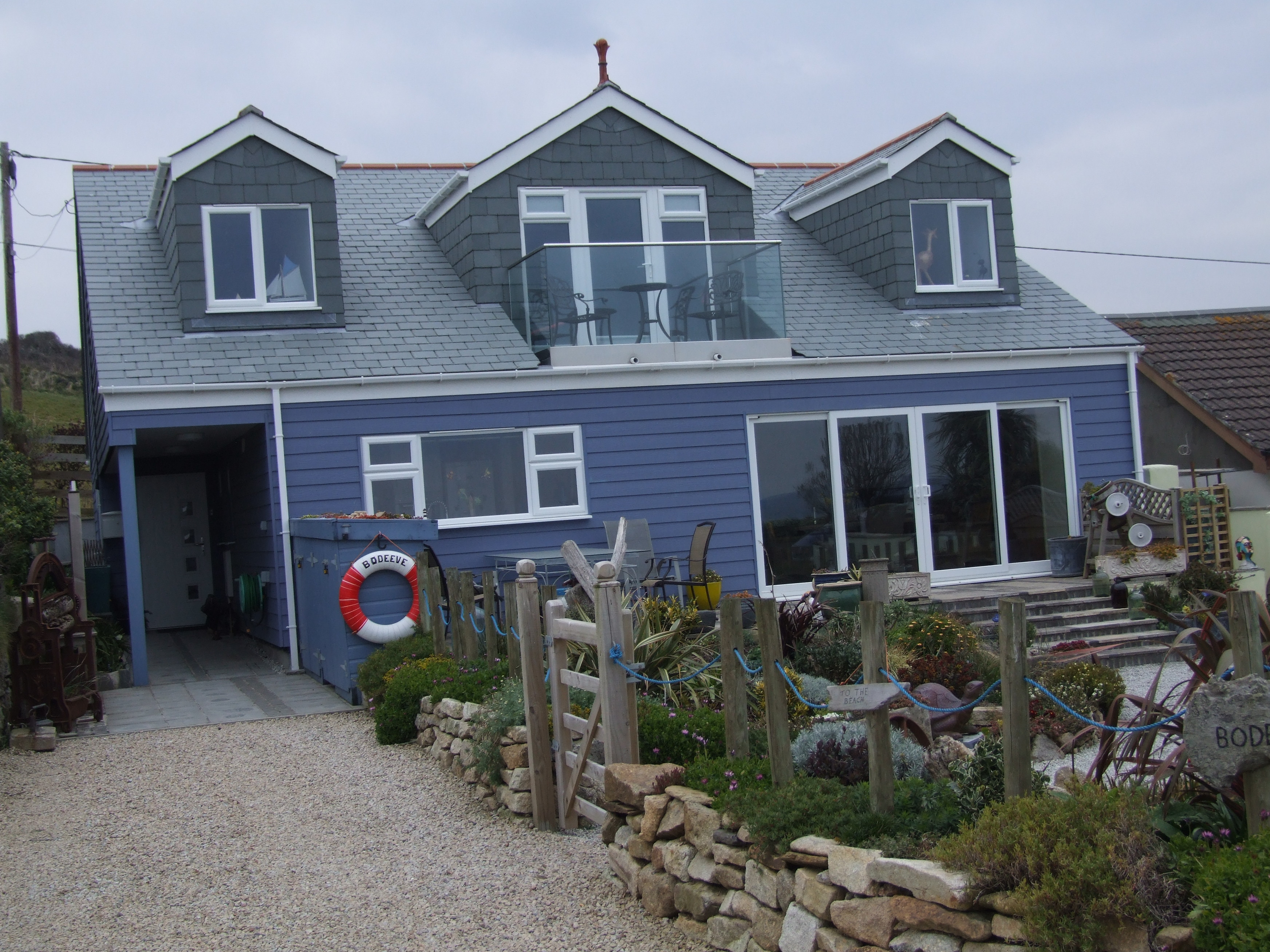 Private House finished in Marley Eternit Cedral Weatherboard